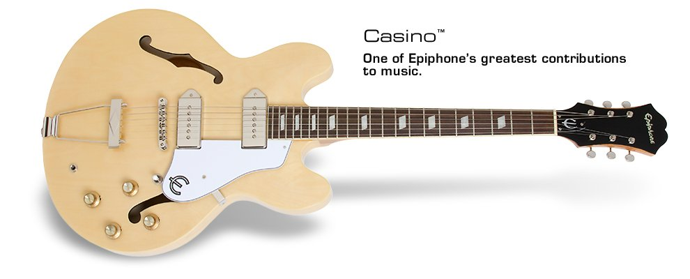 Epiphone Casino-Natural