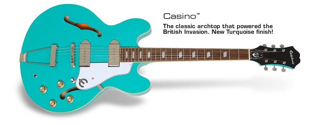 Epiphone Casino-Turquoise
