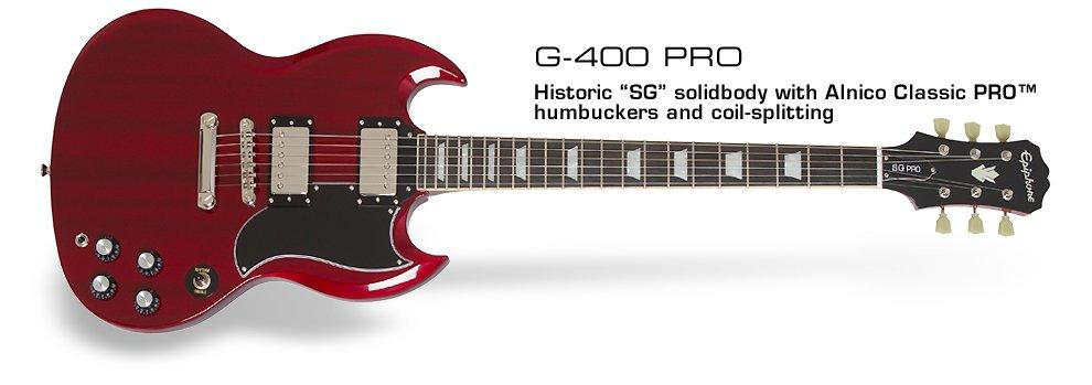 Epiphone SG G-400 Pro