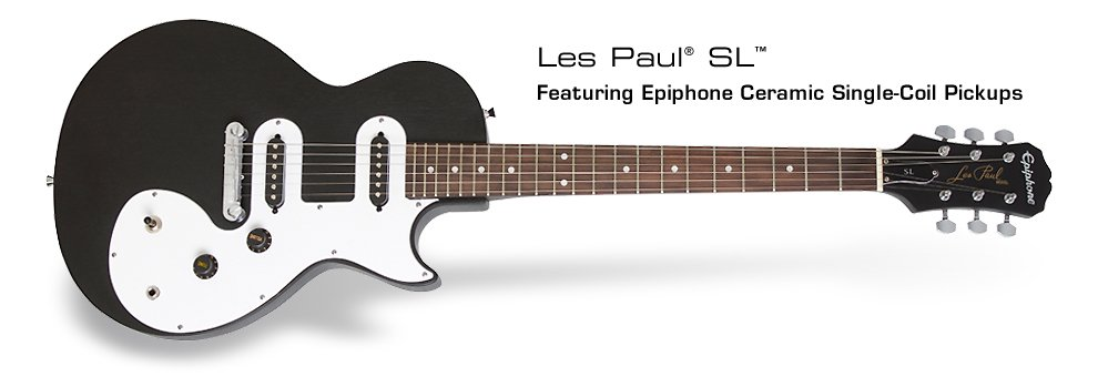 Epiphone Les Paul SL-Black