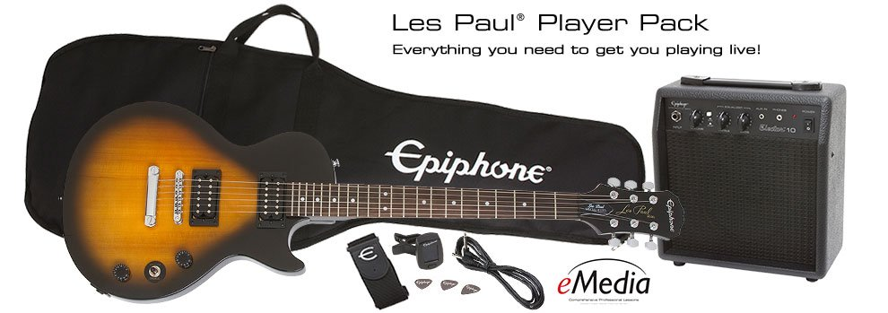 Epiphone Les Paul Guitar Player Pack