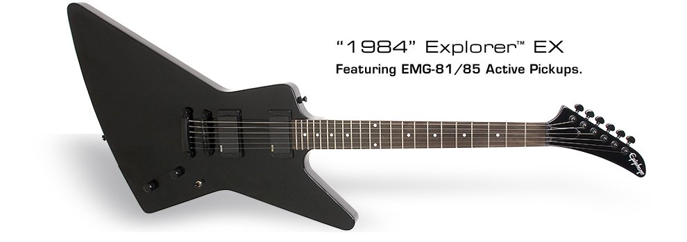 Epiphone Limited Edition 1984 Explorer