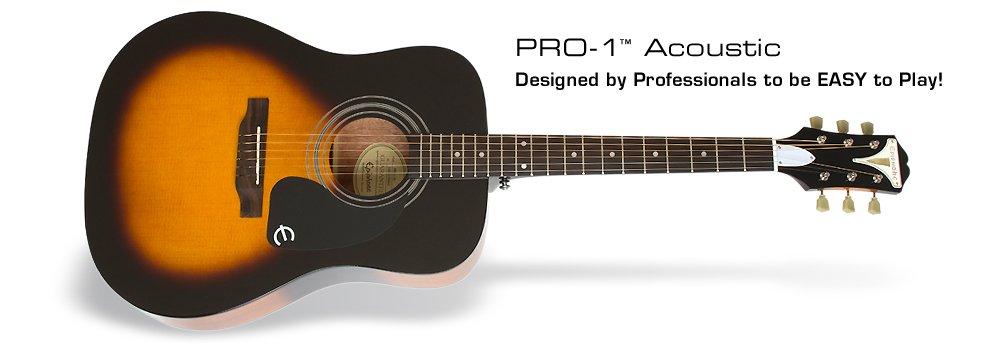 Epiphone PRO-1 Acoustic Sunburst