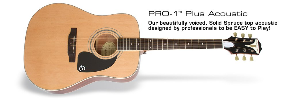 Epiphone PRO-1 Plus Acoustic-Natural