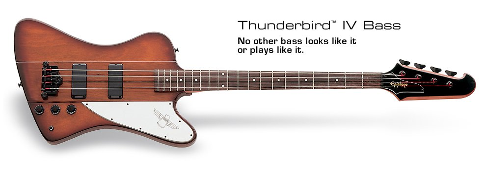 Epiphone T-Bird IV Bass-Sunburst