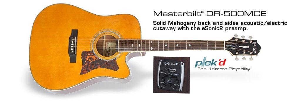 Epiphone Masterbuilt DR-500MCE Acoustic/Electric