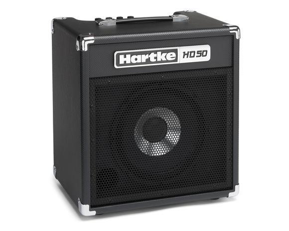 Hartke HD50-50 Watt Bass Amp 1X10