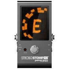Peterson Strobestomp HD pedal tuner