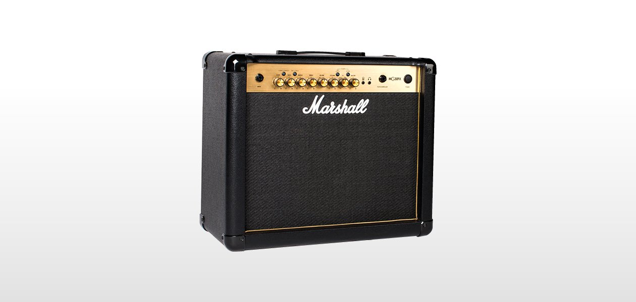 Marshall MG30FX, 30W 1x10 combo in gold w/FX