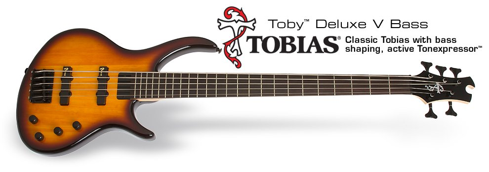 Tobias Toby Deluxe-V Bass