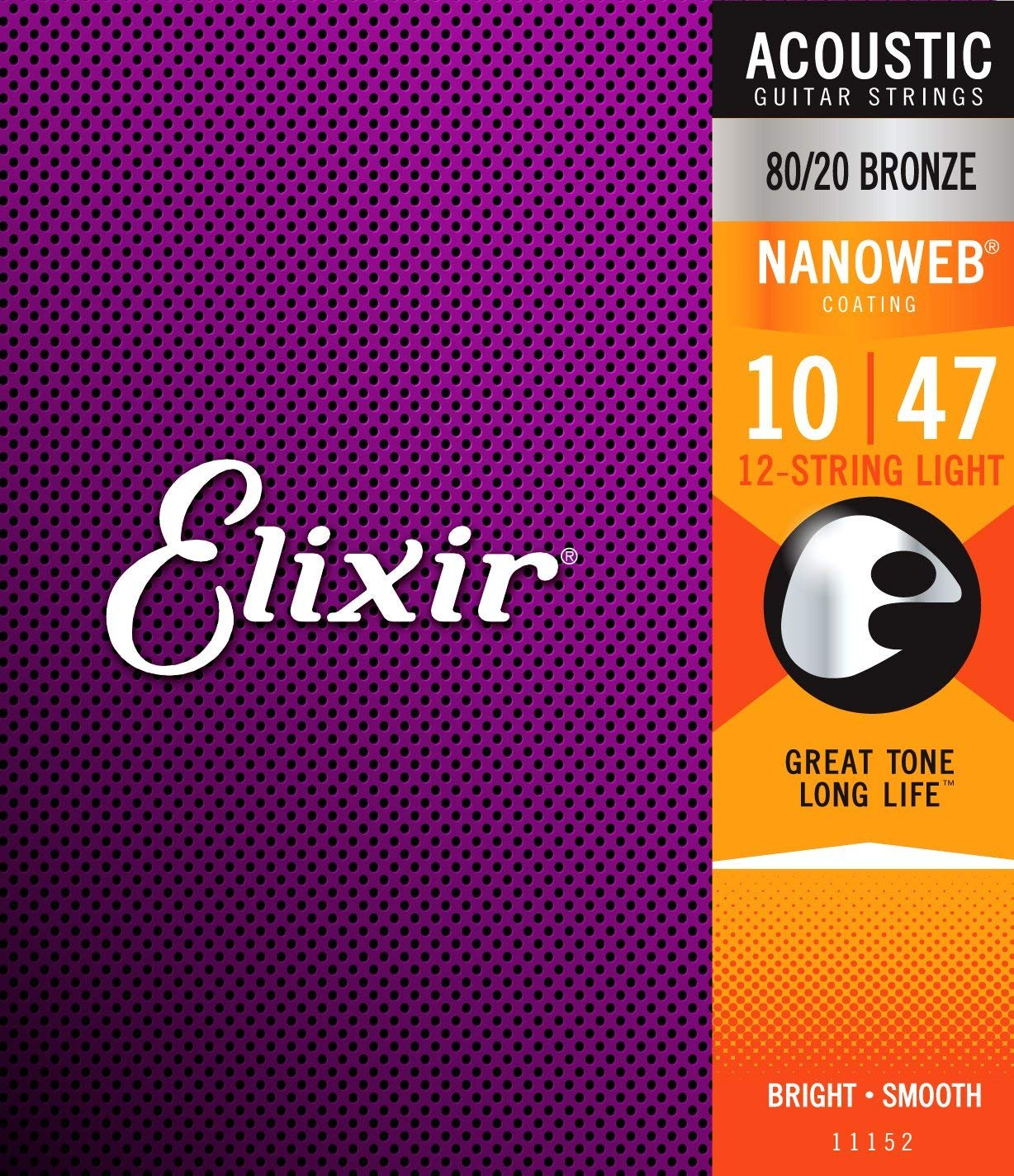 Elixir 12-String Light Nanoweb .010-.047