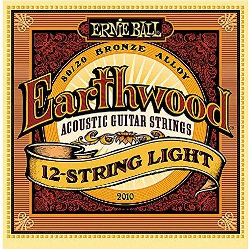Ernie Ball Earthwood 80/20 Bronze Light Acoustic 12-String