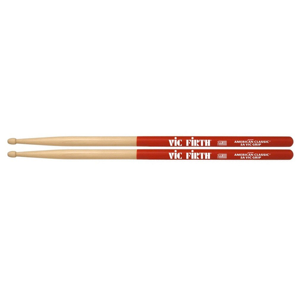 Vic Firth 5A with Grip