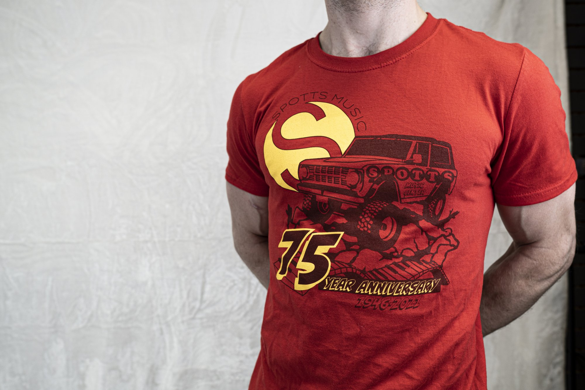 Spotts 75th Anniversary Off-Road Tee (Limited Edition #1)