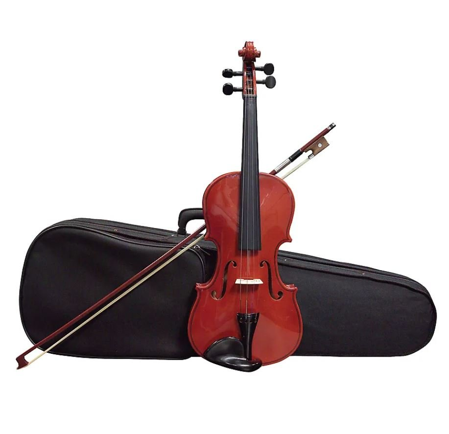 Belmonte 9045 3/4 Size Classical Series Violin Outfit with Case