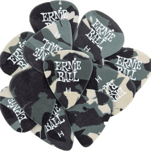 Ernie Ball Camouflage Picks Heavy pack of 12