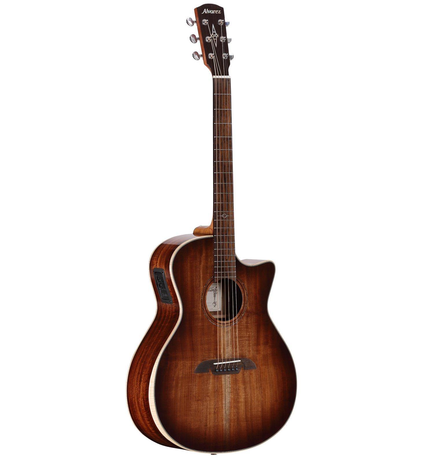 Alvarez AGA99CEARSHB Artist Elite Acoustic Electric Guitar