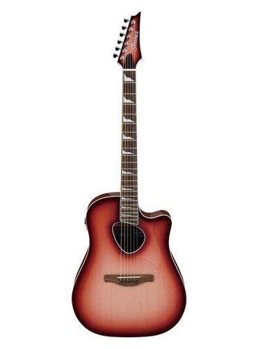 Ibanez Alt30 Altstar Acoustic Electric Guitar - Red Coral Burst