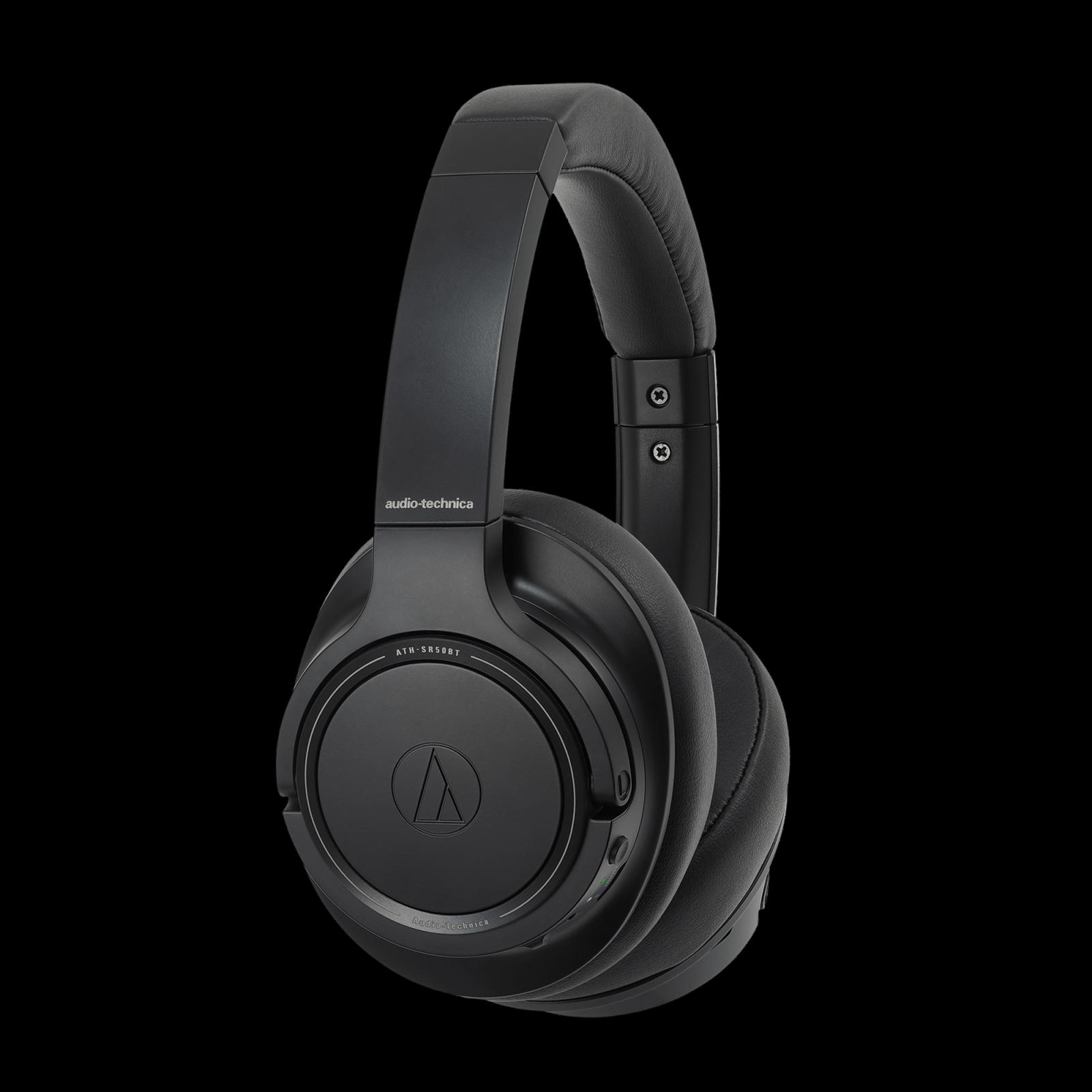Auido-Technica SR50 Bluetooth Headphones BLACK