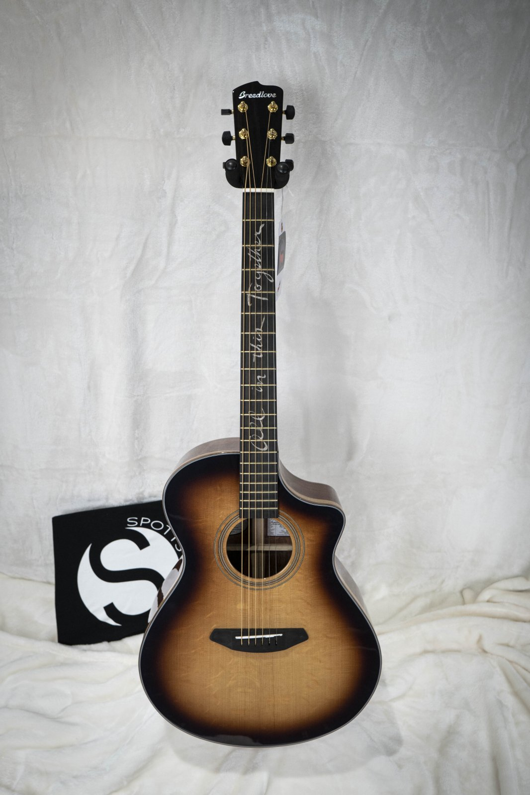 Breedlove Jeff Bridges Amazon Concert Sunburst CE Acoustic Electric Guitar