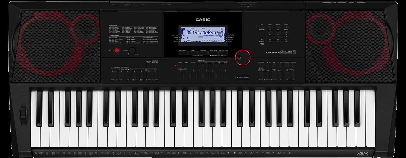 Casio CTX3000 Keyboard