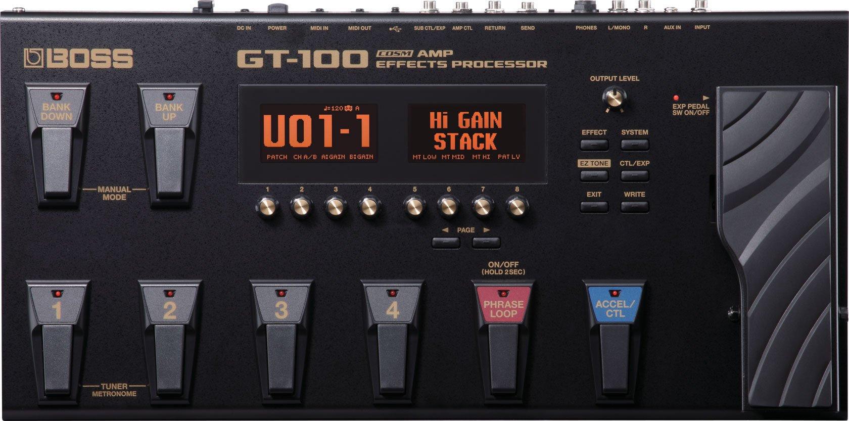 Boss GT100 Multi Effects Processor