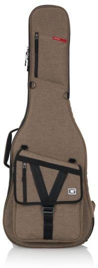 Gator Transit Series Electric Guitar Gig Bag with Tan Exterior
