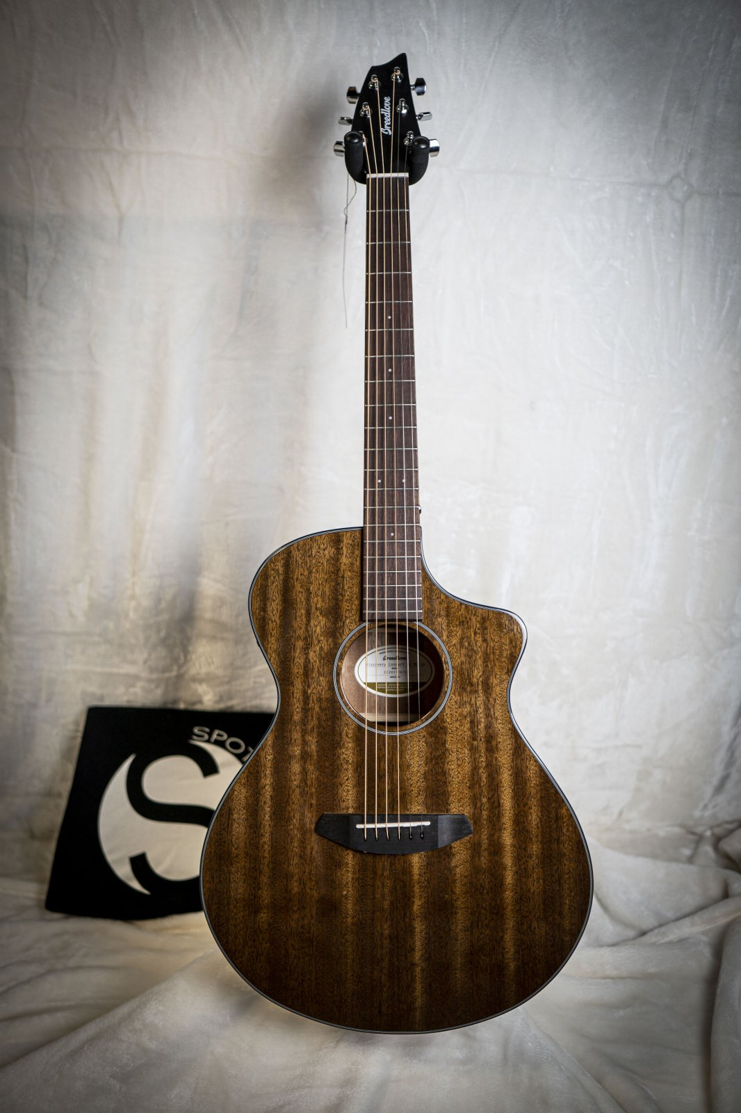 Breedlove Discovery Concert Suede CE Mahogany-Mahogany *LIMITED EDITION*