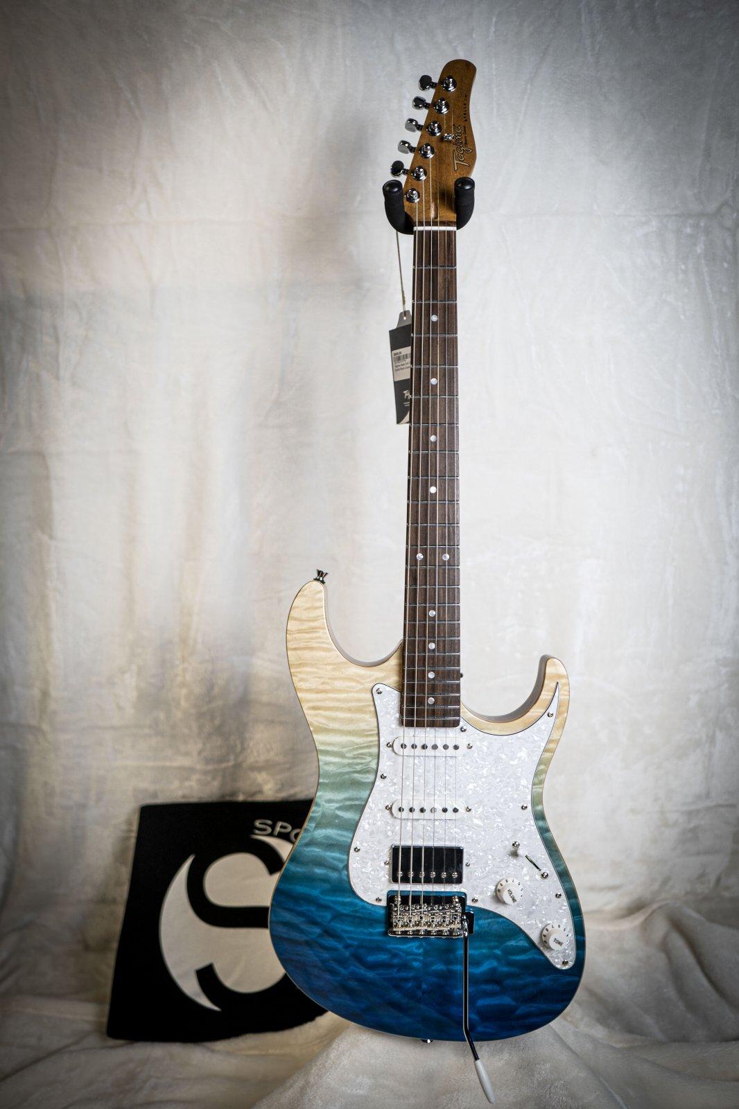 Tagima Stella DW-TBLF-DF/PW Blue Fade Electric Guitar
