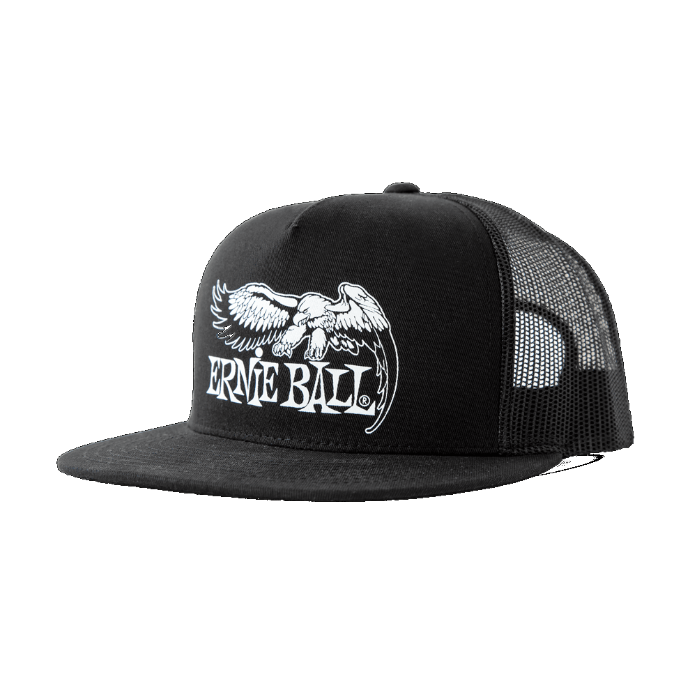 Ernie Ball Eagle Logo Hat Black