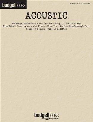 Budget Books Acoustic Songs
