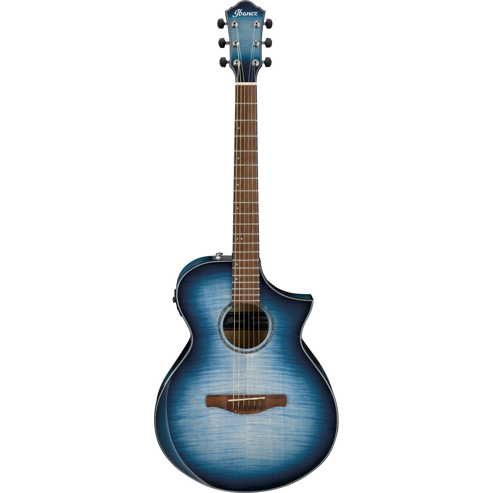 Ibanez AEWC400IBB Acoustic Electric Guitar