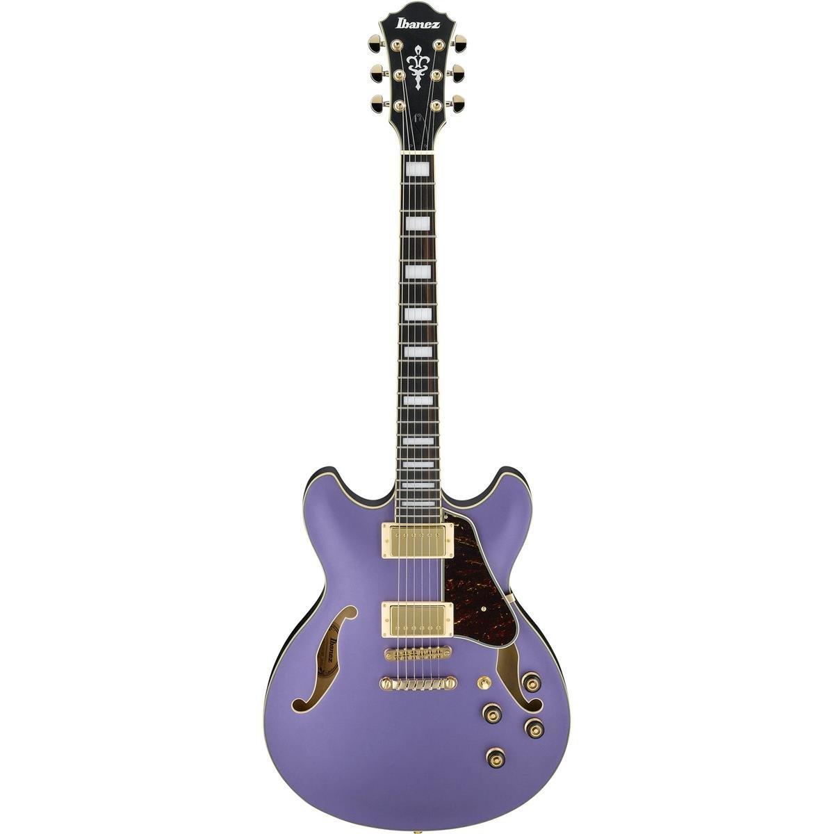 (Pre-Order) Ibanez Artcore AS73GMPF Electric Guitar - Metallic Purple Flat