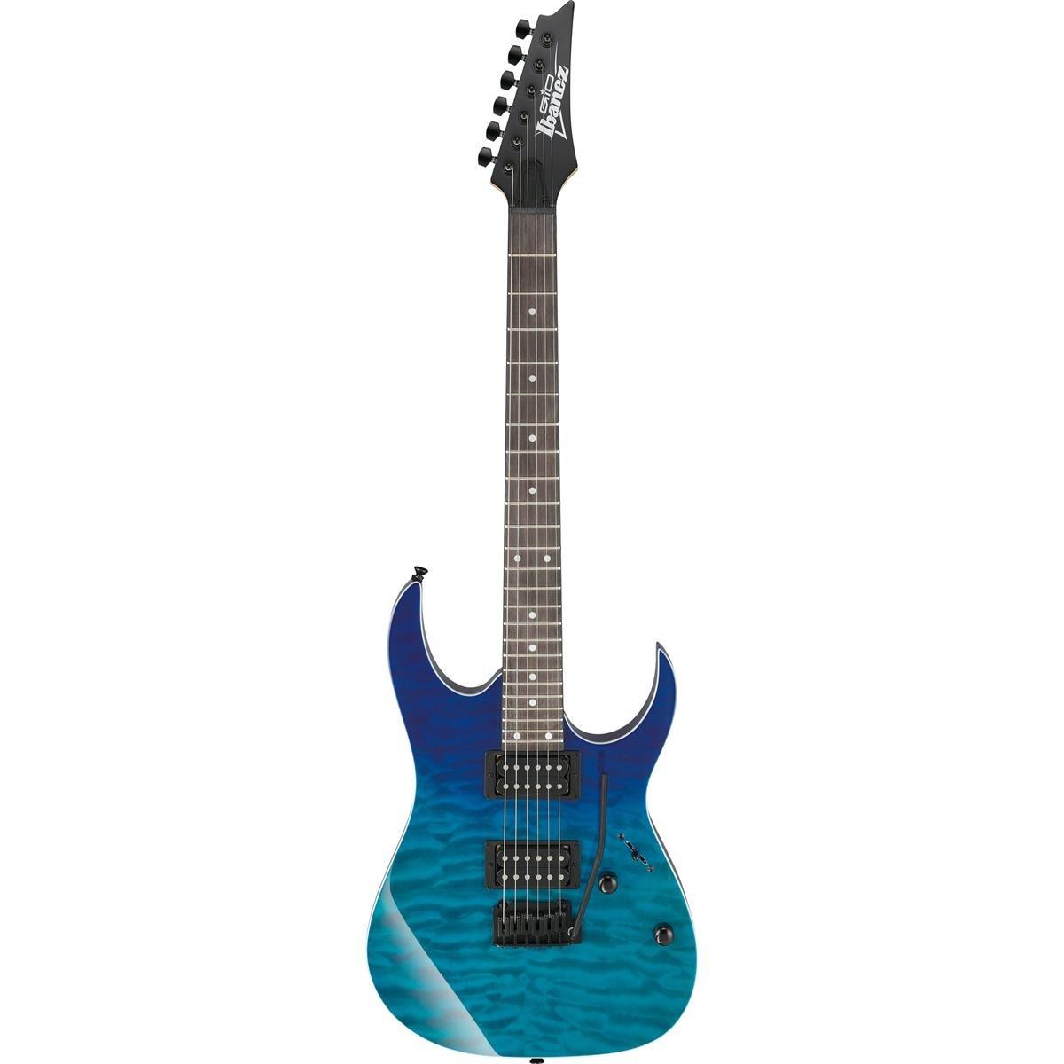 (Pre-Order) Ibanez GRG120QASP Gio Electric Guitar - Blue Gradation