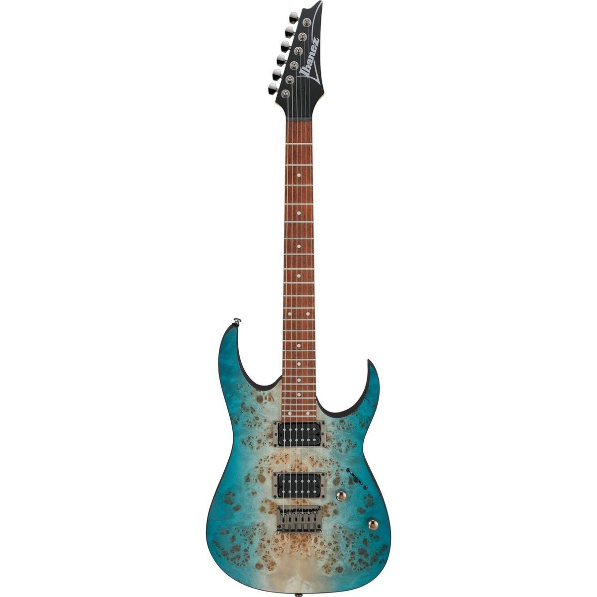 (Pre-Order) Ibanez RG421PBCHF RG Series Electric Guitar - Caribbean Shoreline Flat