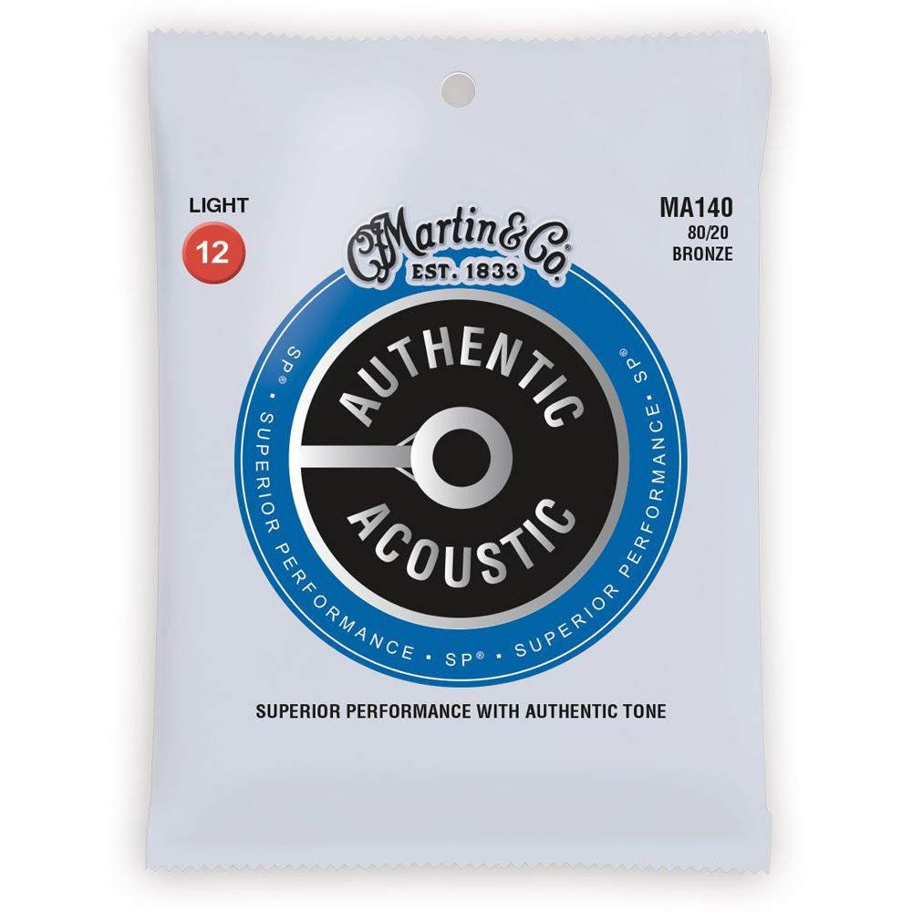 Martin Authentic Acoustic Light 12-54 Acoustic Guitar Strings
