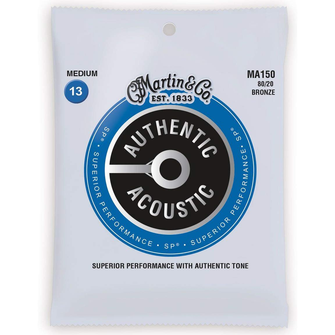 MARTIN AUTHENTIC ACOU MED .13