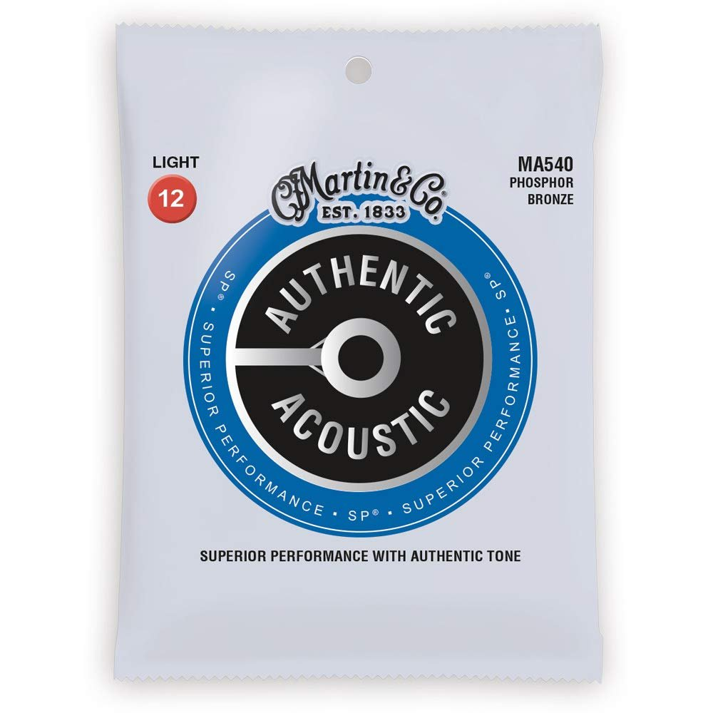 Martin Authentic Acoustic 92/8 PB Light 12-54