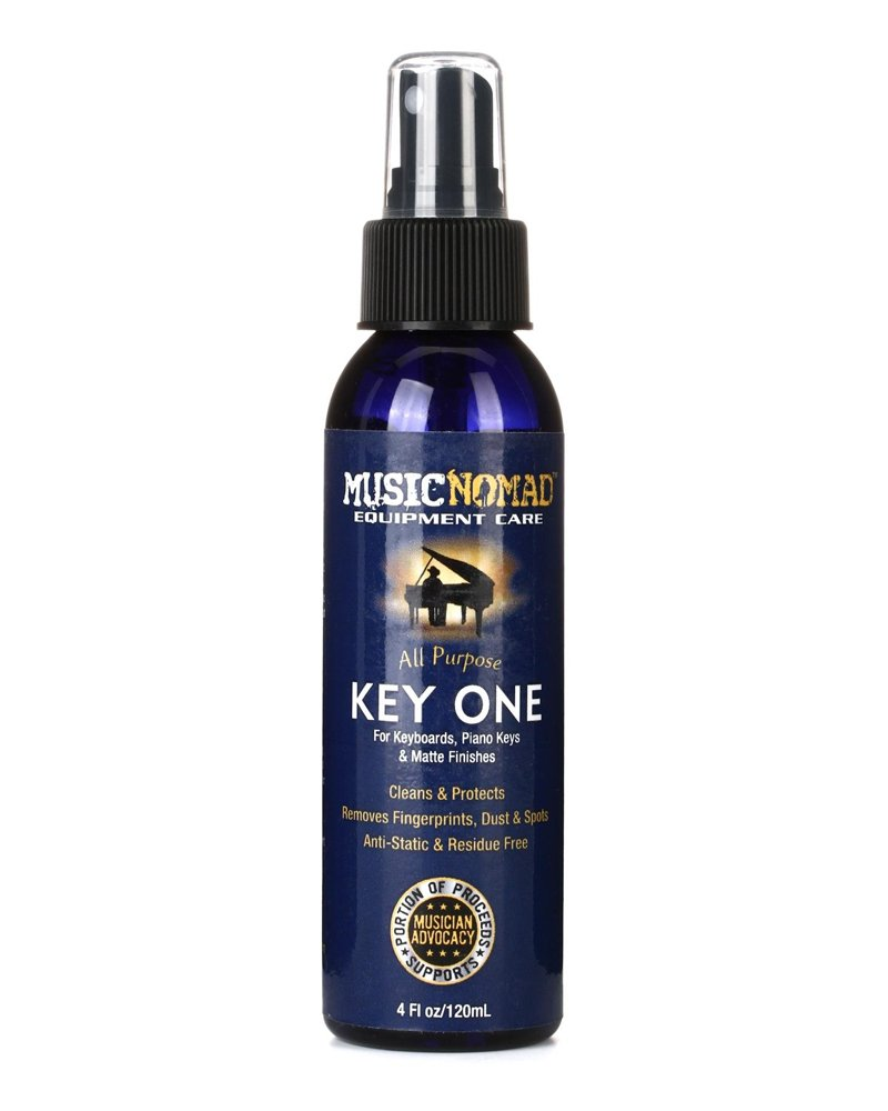 Music Nomad Key One Cleaner for Keyboards Piano Keys and Matte Piano Finishes