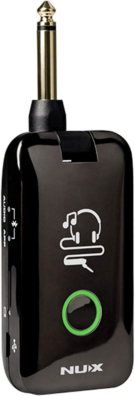 NUX Mighty Plug Guitar & Bass Modeling Earphone Amplug w/ Bluetooth
