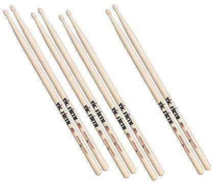 Vic Firth American Classic 5B Wood Tip 4-Pair