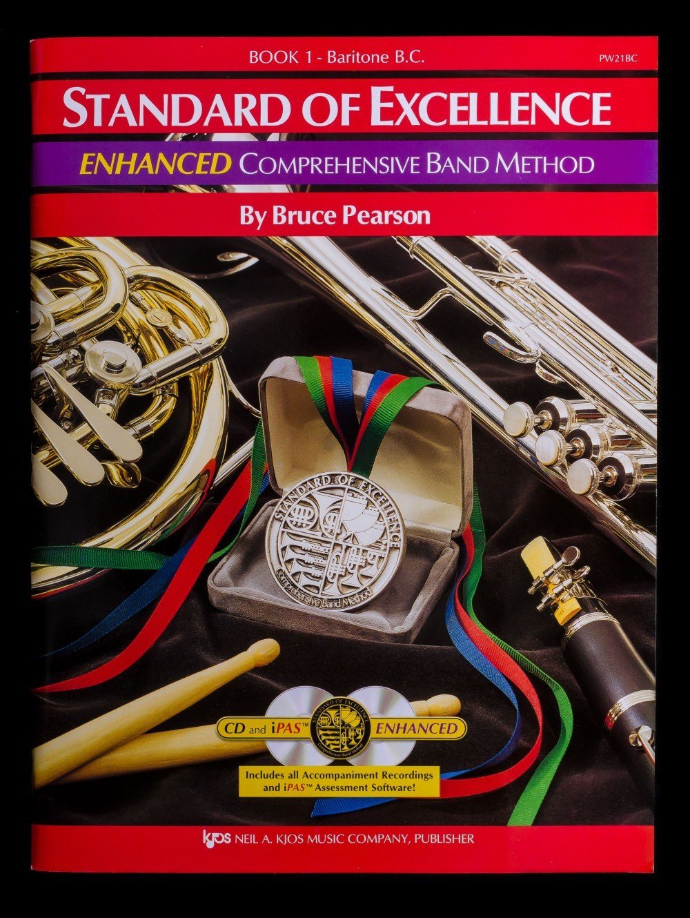 Standard of Excellence Enhanced Baritone BC Book 1