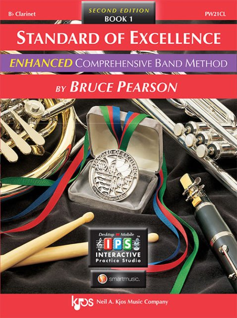 Standard of Excellence Enhanced Clarinet Book 1