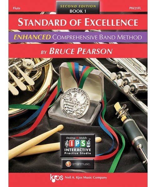 Standard of Excellence Enhanced Flute Book 1