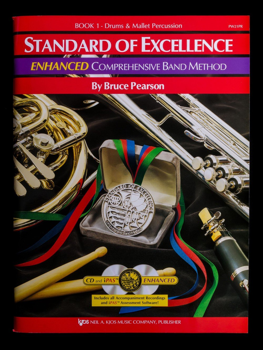 Standard of Excellence Enhanced Percussion Book 1