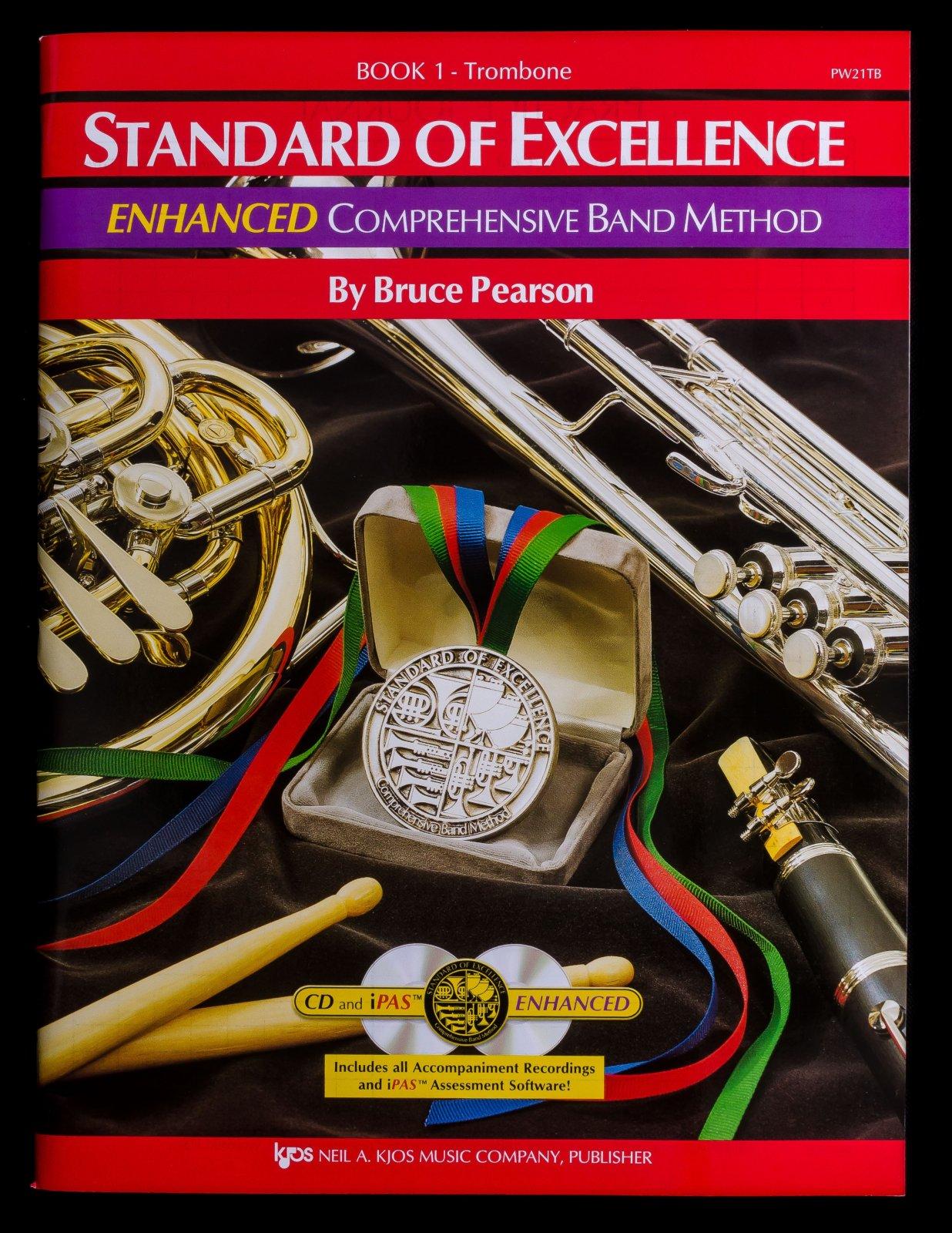 Standard of Excellence Enhanced Trombone Book 1