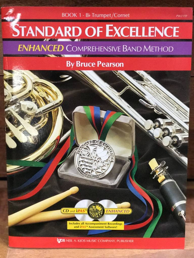 Standard of Excellence Enhanced Trumpet Book 1