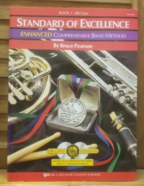 Standard of Excellence Enhanced BBb Tuba Book 1