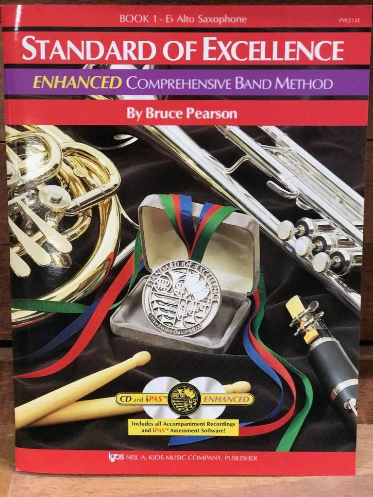 Standard of Excellence Enhanced Alto Sax Book 1