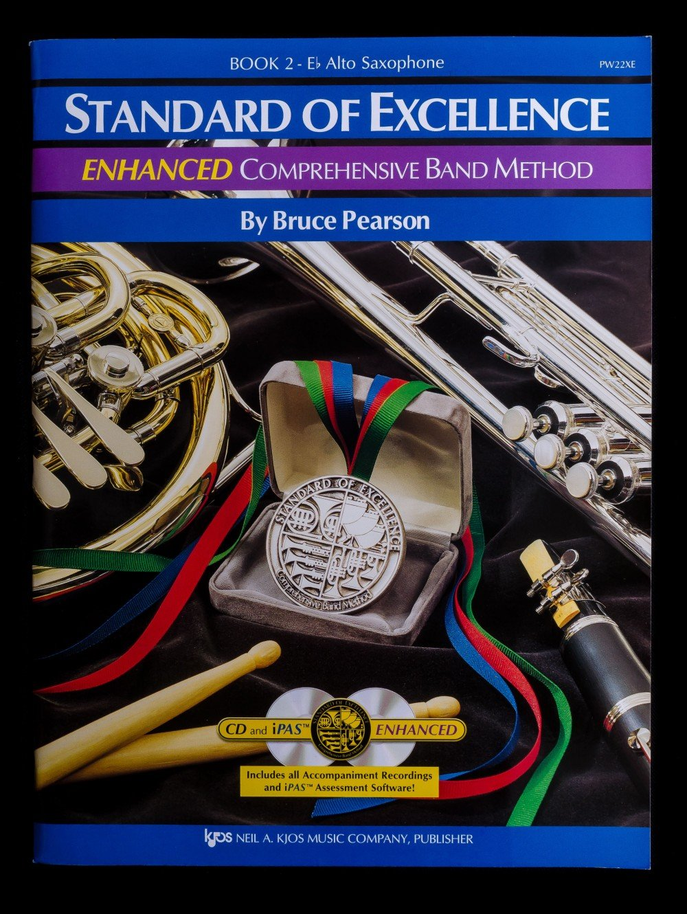 Standard of Excellence Enhanced Alto Sax Book 2